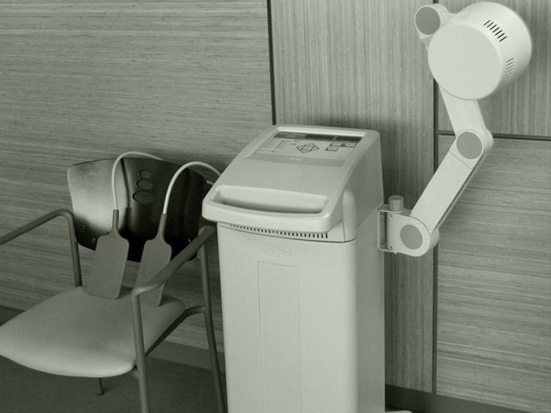 short wave diathermy treatment